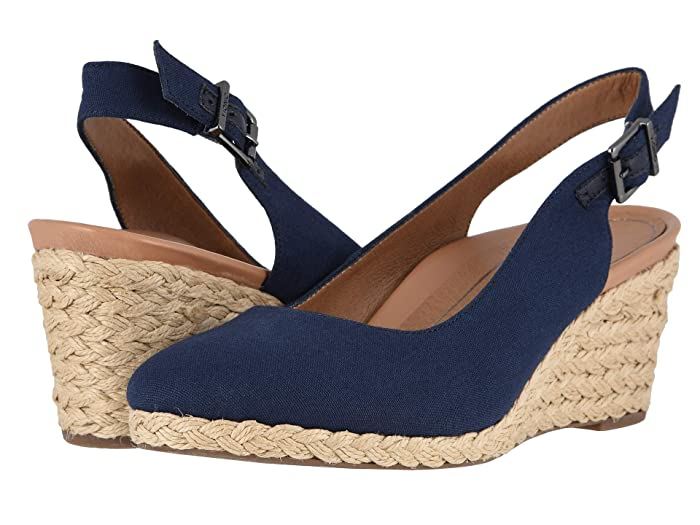 VIONIC  Coralina (Navy) Womens Wedge Shoes
