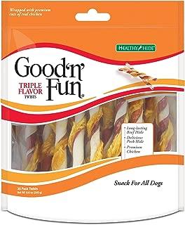 Good 'N' Fun Triple Flavor Twist Chews for Dogs