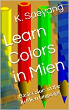 Learn Colors in Mien: Basic colors in the Iu Mien language