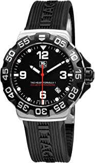 TAG Heuer Men's WAH1110.FT6024 Formula 1 Black Dial Watch