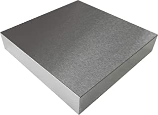 "HimaPro Steel Bench Block 4""x4"" Flat Anvil Jewelers Tool Metal Bench Block for Jewelry & Stamping (4''x4''x3/4'')"