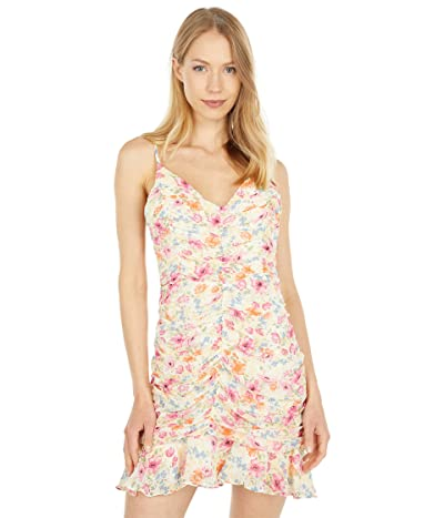 ASTR the Label Ruched Cami Mini Dress