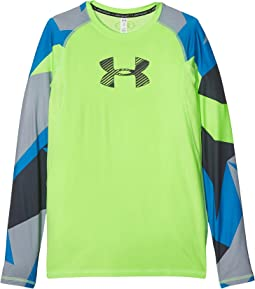 Armour HeatGear® Novelty Long Sleeve (Big Kids)