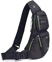 حقائب ظهر سلينج حقيبة كتف صغيرة متعددة الأغراض للسفر وركوب الدراجات للرجال والنساء