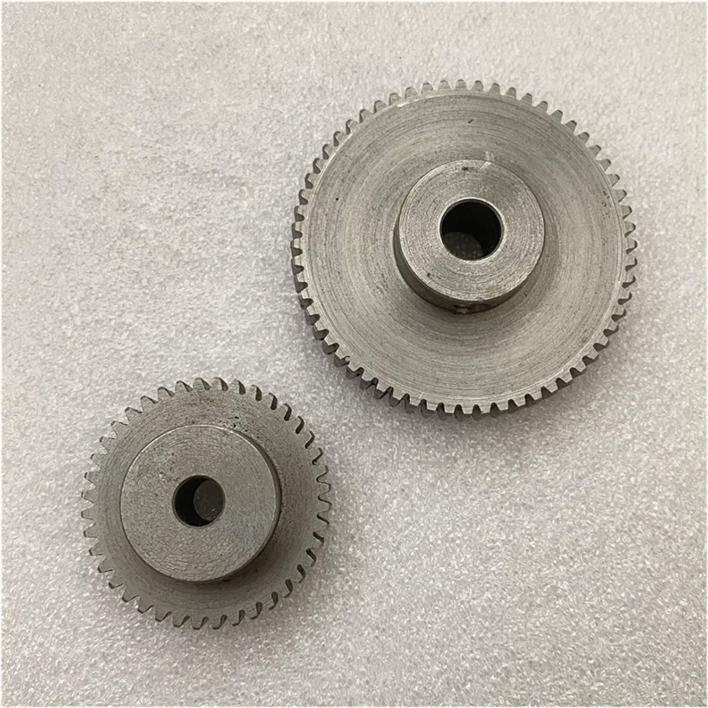 TMP1105 1PC Gears 0.8M 40/60T 5/6/8mm Hole Carbon Steel Spur Gea