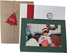 product image for Holiday Collection - 4x6 Photo Insert Note Cards - 24 Pack by Plymouth Cards