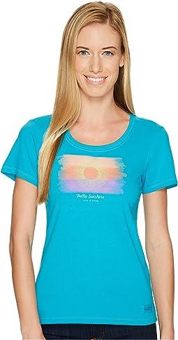 Watercolor Hello Sun Crusher Scoop