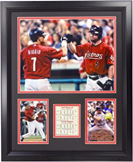 "Legends Never Die Houston Astros Bagwell & Biggio Framed Photo Collage, 16"" x 20"""