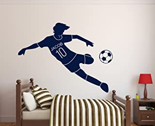 soccer field wall decals