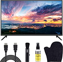 $199 » Sansui 40-Inch 1080p FHD DLED Smart TV (S40P28FN) Slim Ultra-Light Bezel Built-in with HDMI, USB, High Resolution, Dolby Audio Bundle with 6.5 ft HDMI Cable and LCD Screen Cleaning Kit