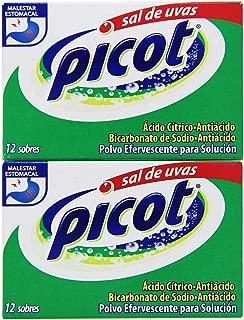 3- Pack Picot Sal De Uvas Antacid 24 envelopes (3)