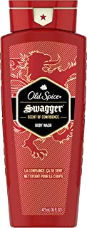 Old Spice Men's Body Wash, Swagger Scent, Red Collection 16 Fl Oz (Pack of 4)