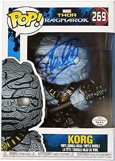 Stan Lee Signed Autographed Korg FUNKO POP #269 Vinyl Figure PAAS COA