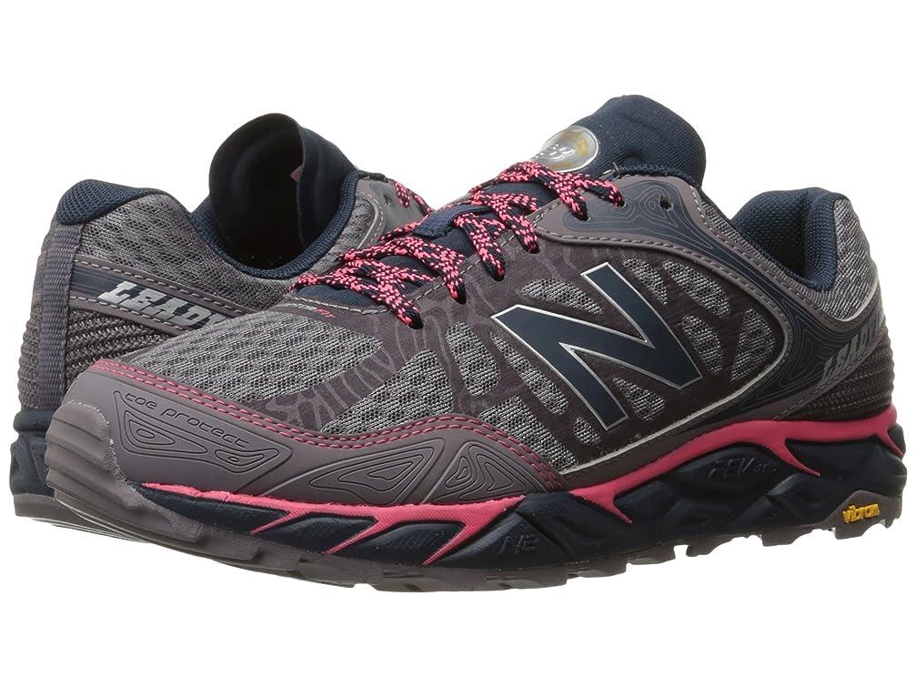 器具統治する秘書(ニューバランス) New Balance レディースランニングシューズ?スニーカー?靴 Leadville v3 Grey/Pink 9.5 (26.5cm) B - Medium