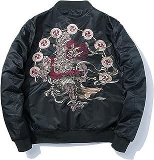 XYXIONGMAO Japanese Goblin Streetwear Men Bomber Jacket Oversized Windbreaker Couple Hip Hop Clothing Black