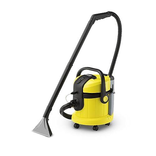 Kärcher SE 4002 - Lava-aspiradora con cable, 1400 W y 4+4 litros de depósito de agua limpia / sucia (aspiradora de seco y húmedo)