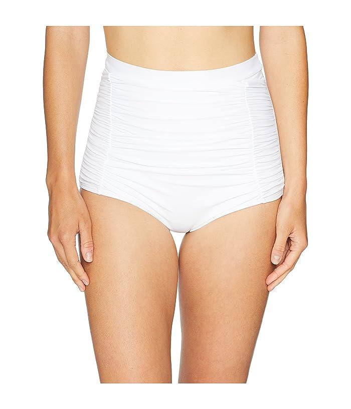 Unique Vintage Monroe Bottom (Solid White) Women