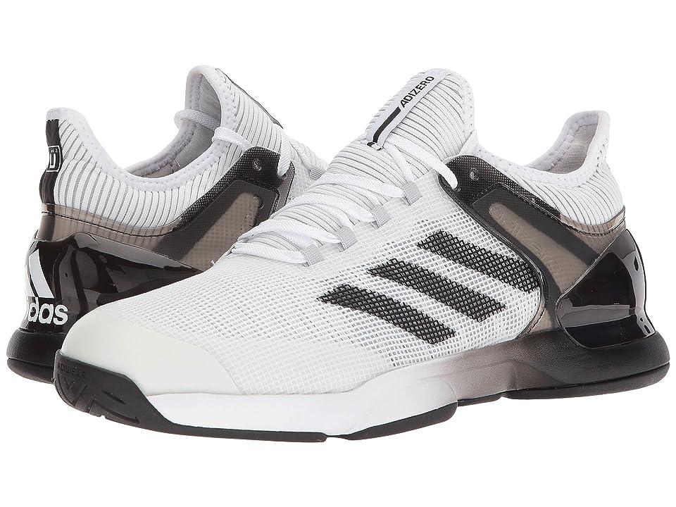 adidas Adizero Ubersonic 2 (White/Black/Grey) Men