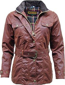 Game Womens AbbyTweed Hunting Shooting Jacket New Purple Lining Warm