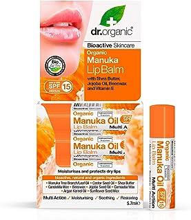 Dr.Organic Manuka Honey Balsamo Labbra 5,7 ml