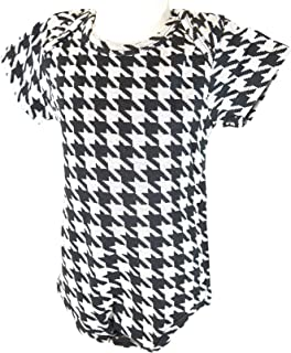 houndstooth onesie for baby