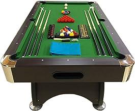 7 Ft Pool Table Billiard Green Cloth Indoor Sports 7ft Game billiards table NEW - 7FT GREEN SEASON