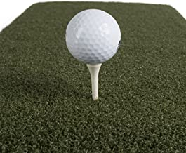 Real Feel Golf Mats The Original Country Club Elite 4'x4' Heavy Duty Commercial Practice Mat. The First Golf Mat That Takes A Real Tee and Lets You Swing Down Through,Simulator,Indoor, Outdoor Use