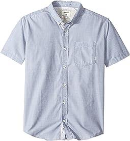 Quiksilver Kids - Everyday Wilsden Short Sleeve Shirt (Big Kids)