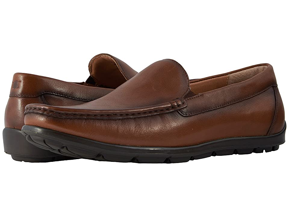 Florsheim Draft Moc Toe Venetian Driver (Cognac Smooth) Men