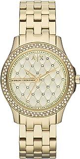 Armani Exchange Ladies Stainless Steel Three Hand Dress Watch