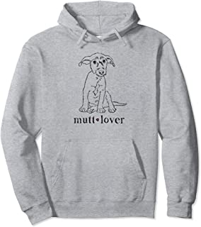 Mutt Lover, Mutt Mama, Dog Lover, Adopt Don't Shop, Dog Mom Pullover Hoodie