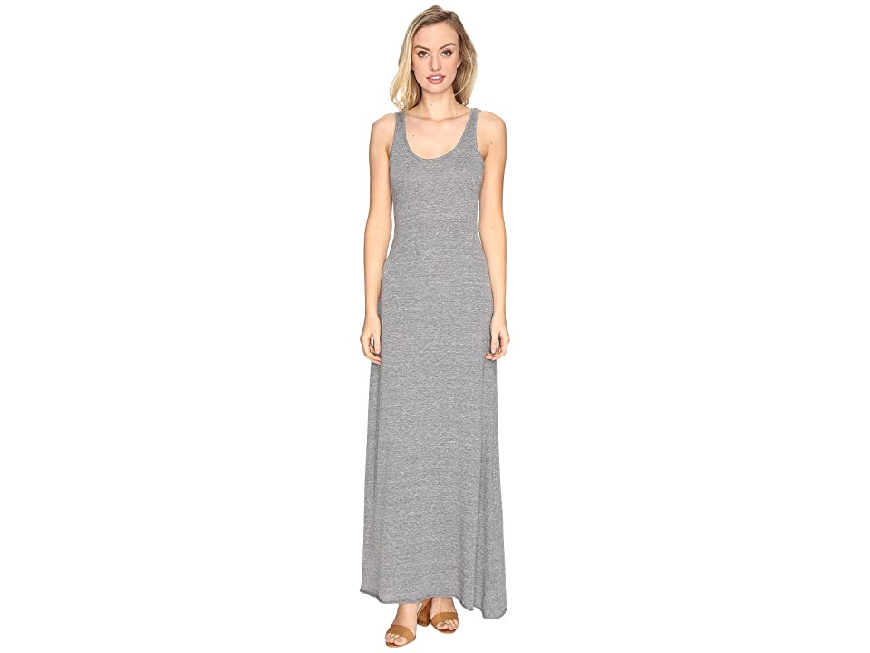 Alternative Eco Jersey Double Scoop Tank Dress (Eco Grey) Women