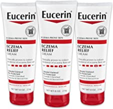 Eucerin Eczema Relief Body Creme, 8 Ounce (Pack of 3)