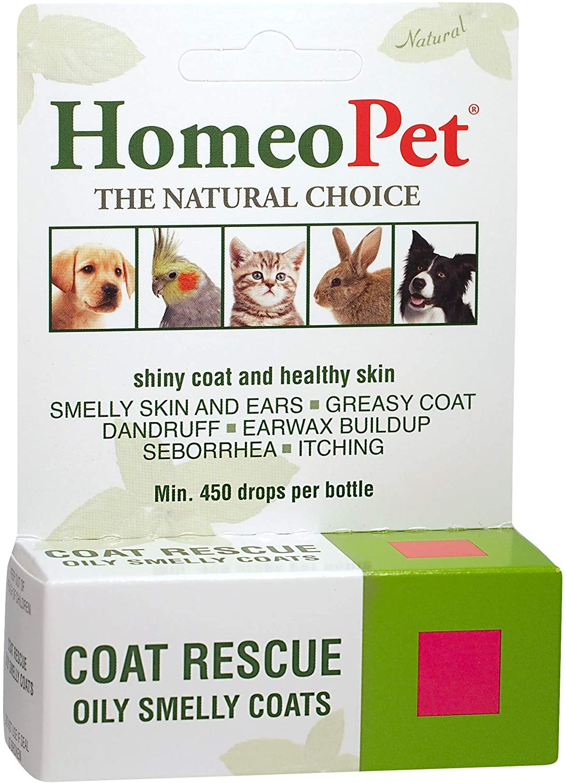 HomeoPet Coat Rescue 15ml : Pet Flea And Tick Sprays : Pet Supplies