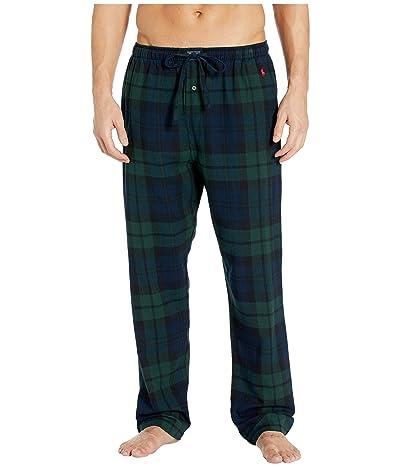 Polo Ralph Lauren Flannel Pajama Pants (Blackwatch Tartan) Men