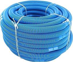 ZZDH Mangueras Piscinas 5m * 32 mm Piscina Limpiador Tubería Dibujo Agua Manguera Aspirador Aspirador Reemplazo Pipa Jardín Piscina Accesorios (Color : Blue)