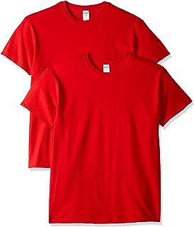Men's Heavy Cotton Adult T-Shirt, 2-Pack