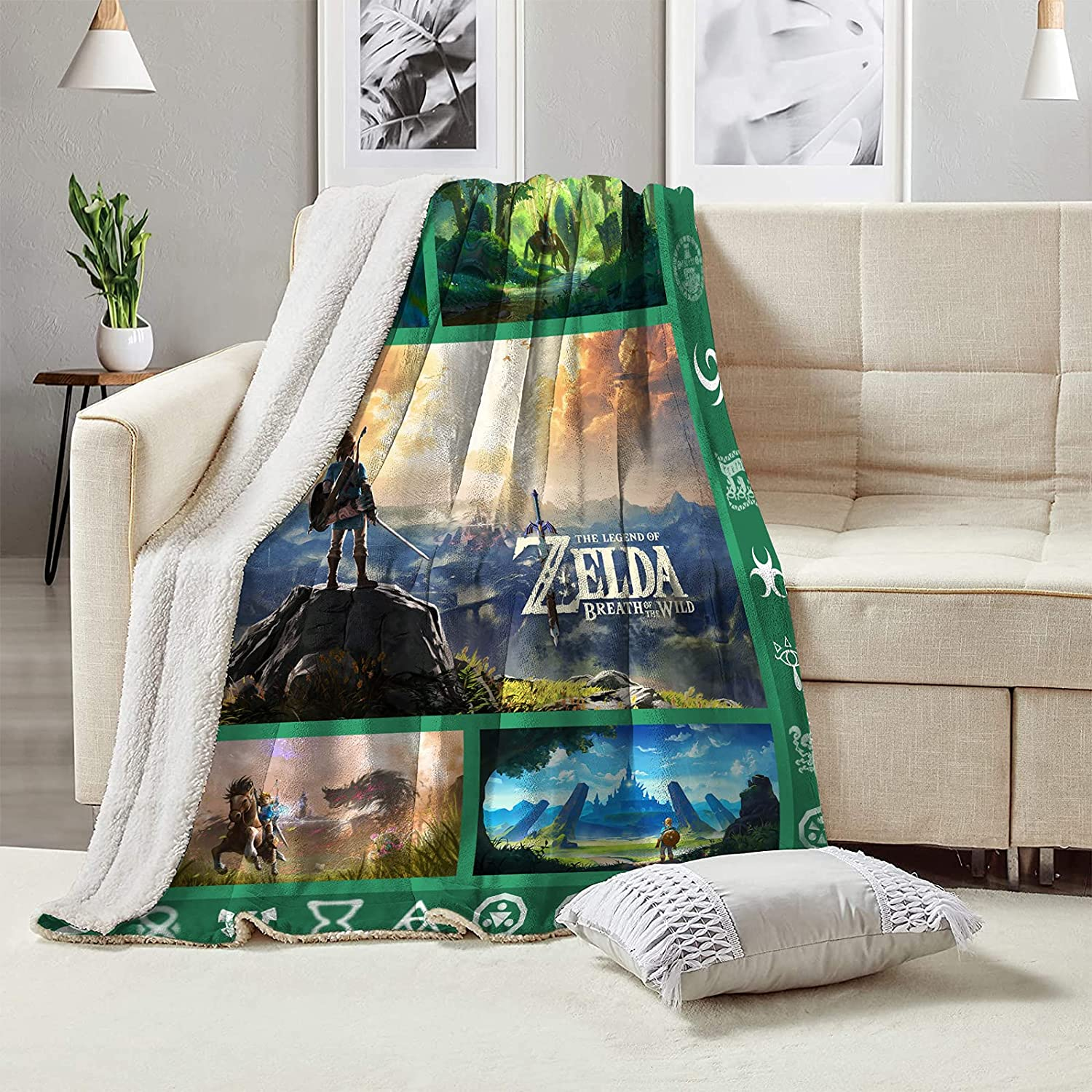 The Le-gend of Zel-da Blanket Warm T Conditioning Home supreme Decor Sale special price Air