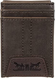 Levis 2019 Mens Wallet, Card Case & Money Organizer, Brown, 14 31LV160016