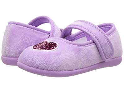 Foamtreads Kids Heart FT (Toddler/Little Kid) (Lilliac) Girls Shoes