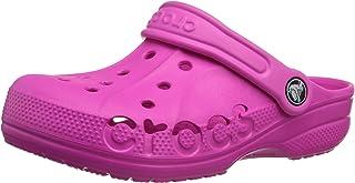 crocs 10190 Baya Kids Clog (Toddler/Little Kid),Neon Magenta,6 M US Toddler