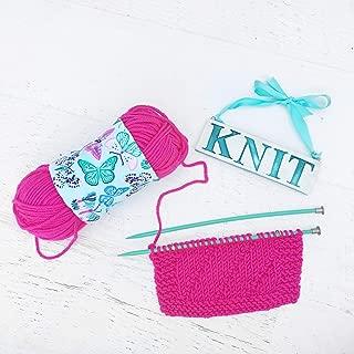 Butterfly Yarn Bowl For Knitting & Crochet