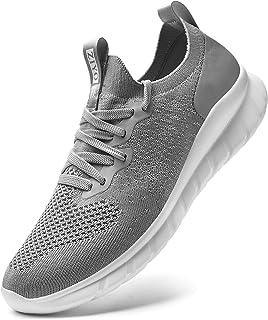 Falechay Scarpe de Sportive Corse Donna Uomo Ginnastica Sneakers Running Traspirante Basse Basket Outdoor Fitness Sneaker