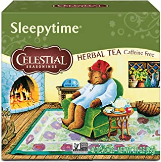 Celestial Seasonings Herbal Tea, Sleepytime, 40 Count (Pack of 6)
