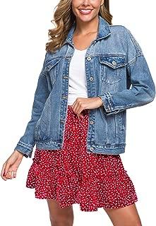 loose fitting jean jacket