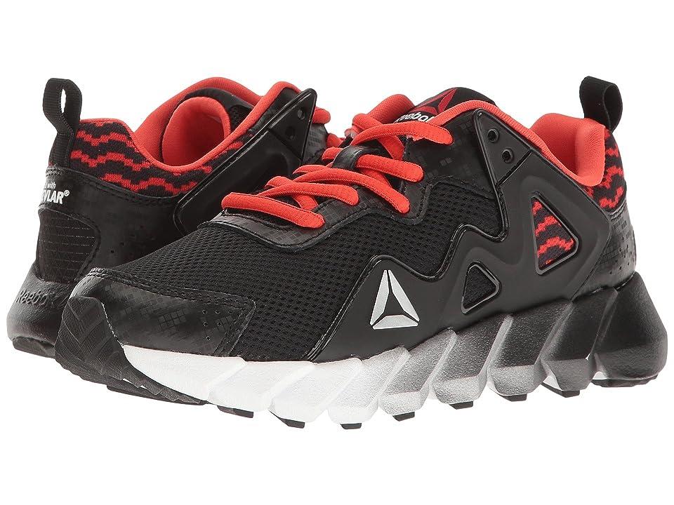 Reebok Kids Exocage Athletic II (Little Kid) (Graphic/Black/Carotene/White) Boys Shoes