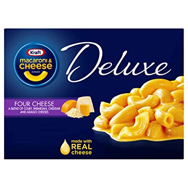 Kraft Deluxe Four Cheese Macaroni and Cheese Meal (14 oz Box)