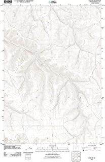 Oregon Maps - 2011 Echo, OR USGS Historical Topographic Map - Cartography Wall Art - 44in x 59in