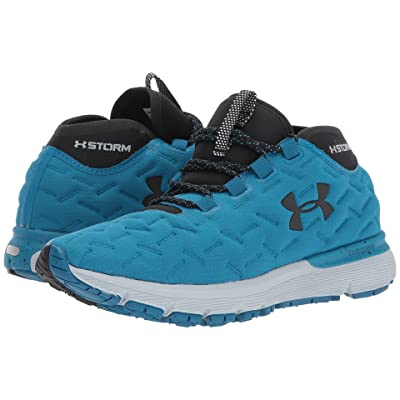 Under Armour Charged Reactor Run (Bayou Blue/Overcast Gray/Black) Women