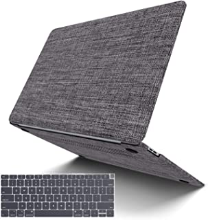 MacBook Pro 13 Inch with CD-ROM Case Model A1278, JGOO Soft Touch Shell Cover(Fabric), Hard Shell Case Compatible MacBook Pro 13 inch Case 2008-2012 Release, Grey